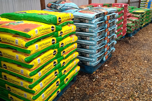 range of compost including peat free