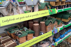 WILDLIFE INSECT AND BEE HOUSING AND WILD BIRD NEST BOXES