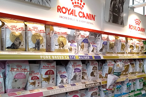 WE STOCK ROYAL CANIN DOG FOOD FOR SPECIFIC BREEDS AND FOR SPECIFIC DIETARY REQUIREMENTS OR AGES OF DOG