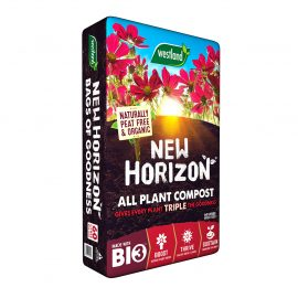 NEW HORIZON PEAT FREE COMPOST AT EARLSWOOD GARDEN CENTRE GUERNSEY