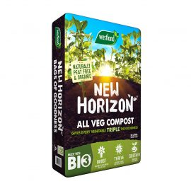 NEW HORIZON PEAT FREE VEGETABLE COMPOST AT EARLSWOOD GARDEN CENTRE GUERNSEY