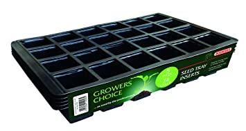 24 CELL INSERTS FOR GROW YOUR OWN AT EARLSWOOD GARDEN CENTRE GUERNSEY