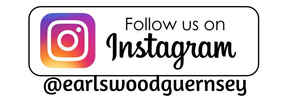 follow us on instagram @earlswoodguernsey